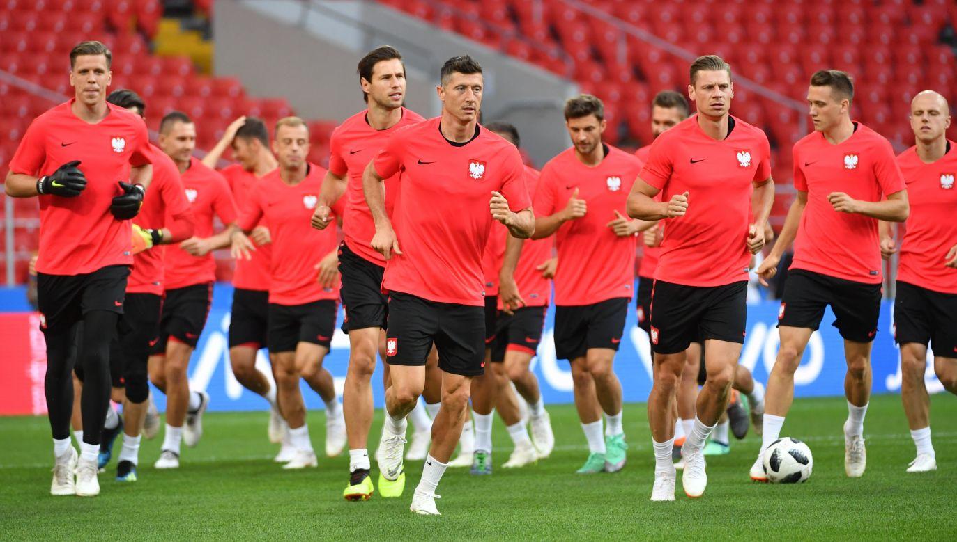The Polish national soccer team on training. Photo: PAP/Bartłomiej Zborowski