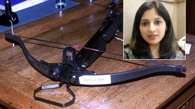 Do tragicznego zdarzenia doszło w Londynie. Kobietę zabito z kuszy  (fot. REUTERS/Olivier Hoslet/Facebook)