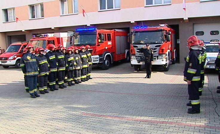 Więcej dla strażaków - większe bezpieczeństwo