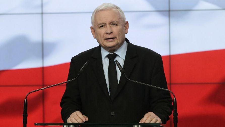 """Prezes PiS wziął udział w XIV Zjeździe Klubów """"Gazety Polskiej"""" (fot.  PAP/Wojciech Olkuśnik)"""