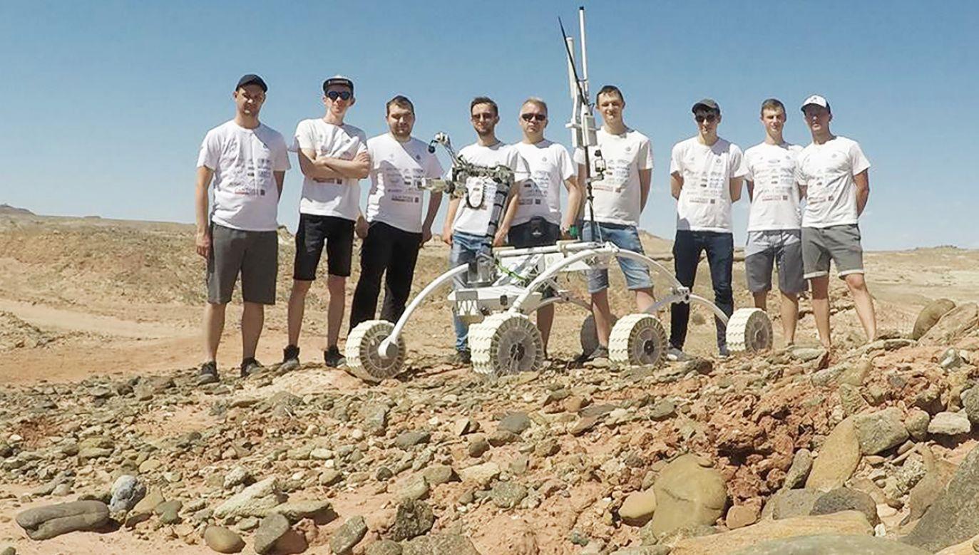 Finał zawodów zorganizowano na pustyni w stanie Utah (fot. Facebook/pczroverteam)