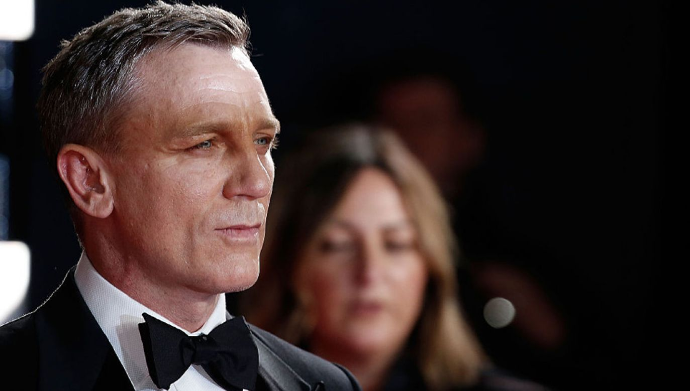 Daniel Craig po raz piąty wcieli się w rolę Jamesa Bonda (fot. John Phillips/Getty Images)