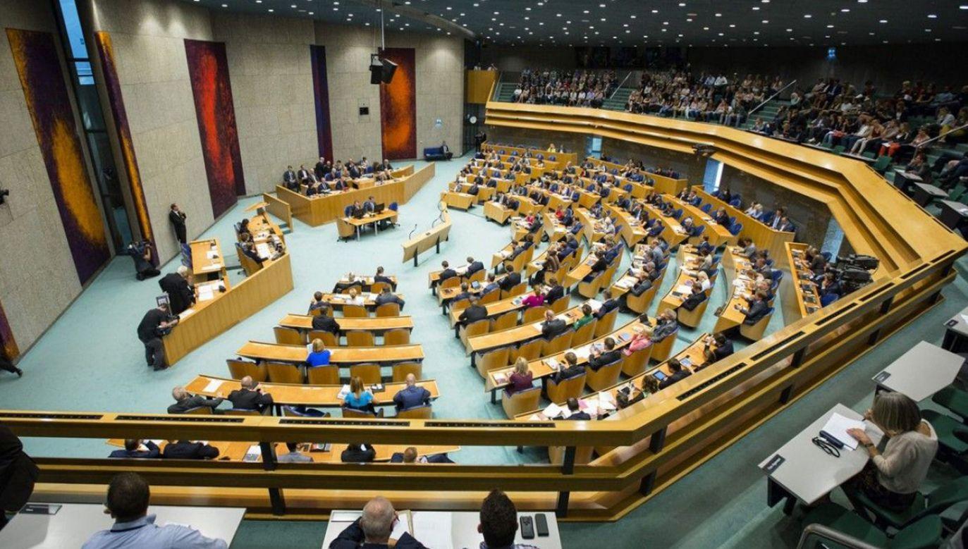 Do dramatycznego incydentu doszło w holenderskim parlamencie (zdjęcie ilustracyjne, fot. Materiały prasowe)