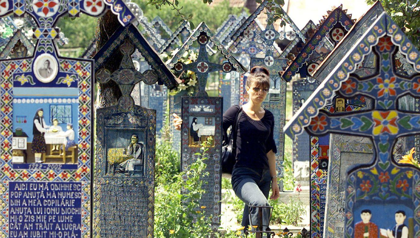 W 1999 roku Wesoły Cmentarz w Sapanta został wpisany na Listę Światowego Dziedzictwa UNESCO (fot. Travel Pictures/Reuters)