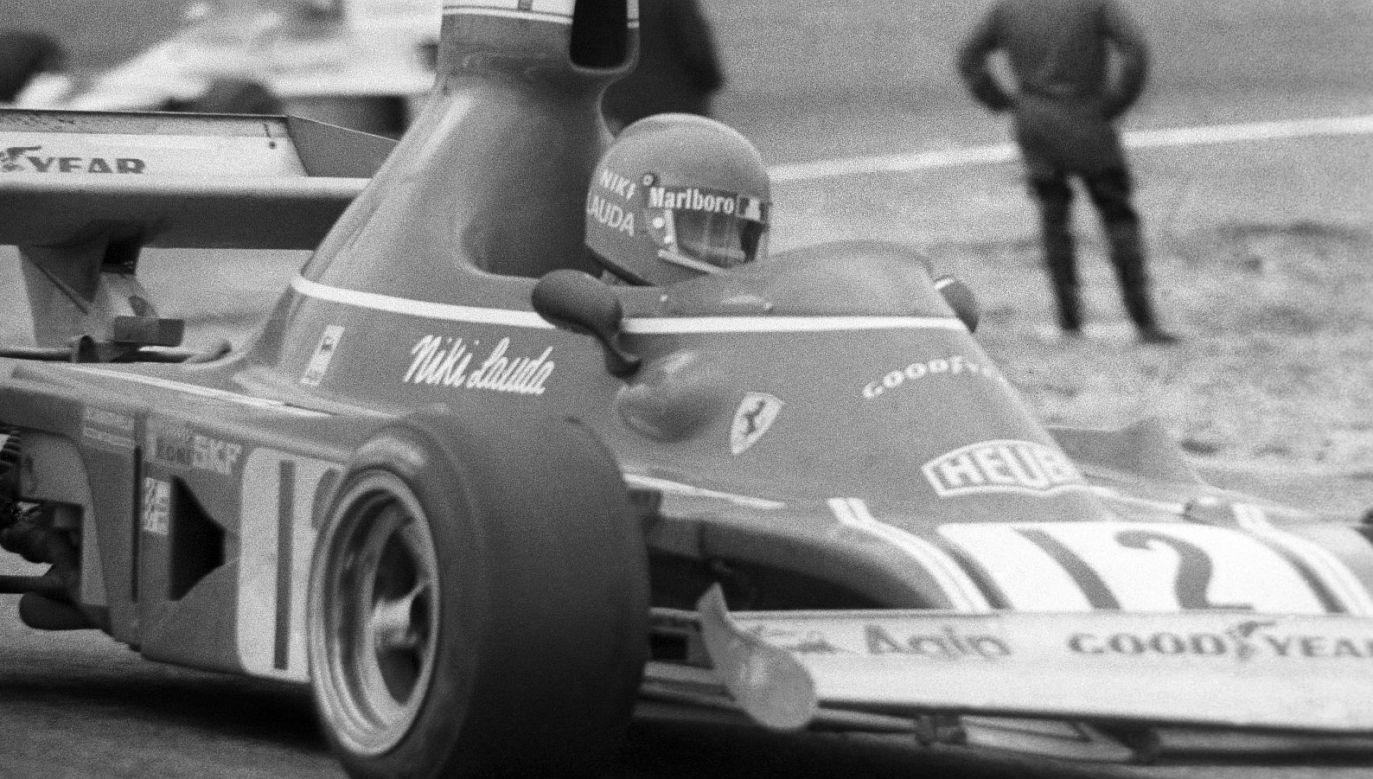 Niki Lauda (fot. PAP)