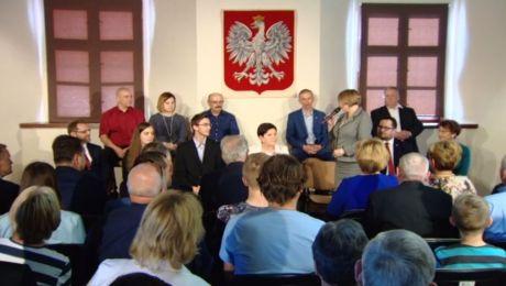 Wicepremier Beata Szydło spotkała się z mieszkańcami ziemi gorlickiej