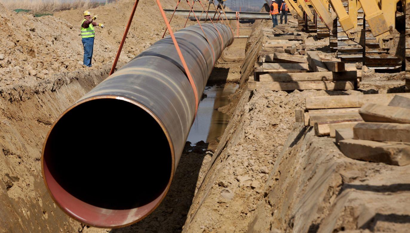 Fundacja ClientEarth skarży zgodę na budowę Nord Stream 2  (fot. Getty/Sean Gallup)