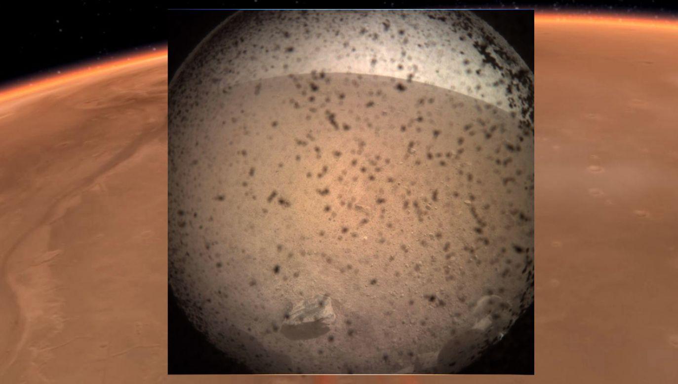 To pierwsza misja, podczas której będą prowadzone badania wnętrza Marsa (fot. Nasa)