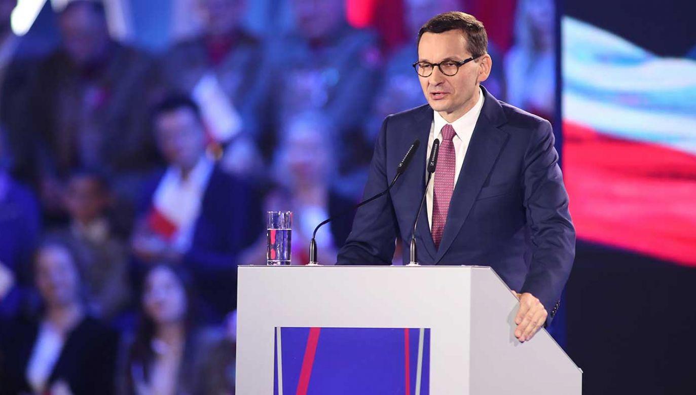 Premier Morawiecki o dochodach, kontach bankowych i nieruchomościach (fot. arch. PAP/Łukasz Gągulski)