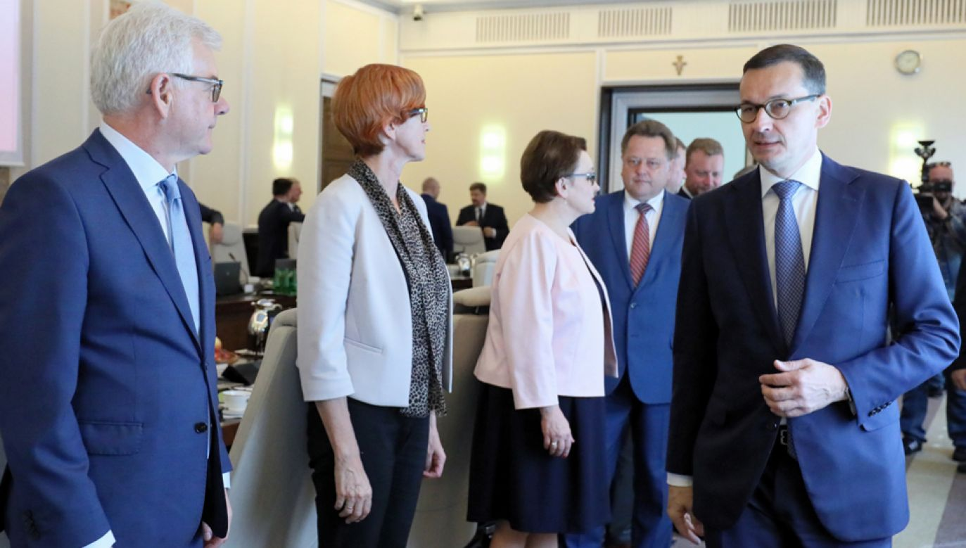 Rada Ministrów debatowała nad rozwiązaniami dla rolnictwa (fot. PAP/Paweł Supernak)