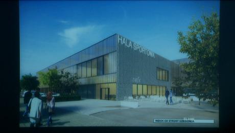 Hala sportowa i centrum edukacji w miejscu dawnego szpitala