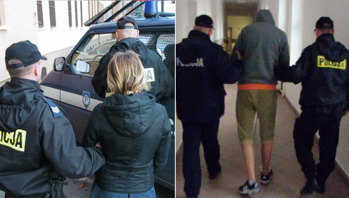 Matka chłopca oraz jej konkubent zostali arzesztowani na trzy miesięce (fot. policja.pl)