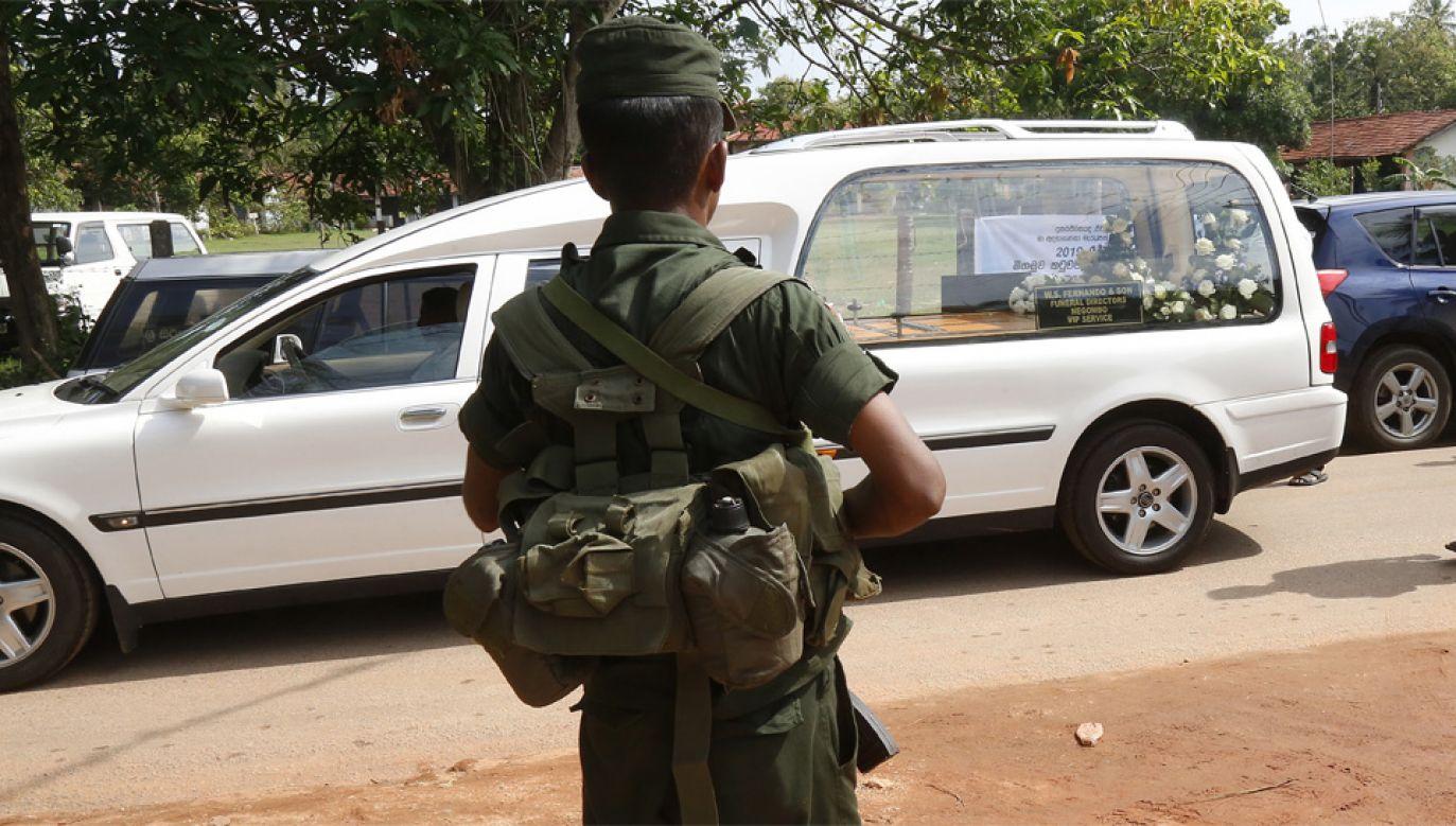 Wśród ofiar są zagraniczni turyści (fot. PAP/EPA/M.A. PUSHPA KUMARA)
