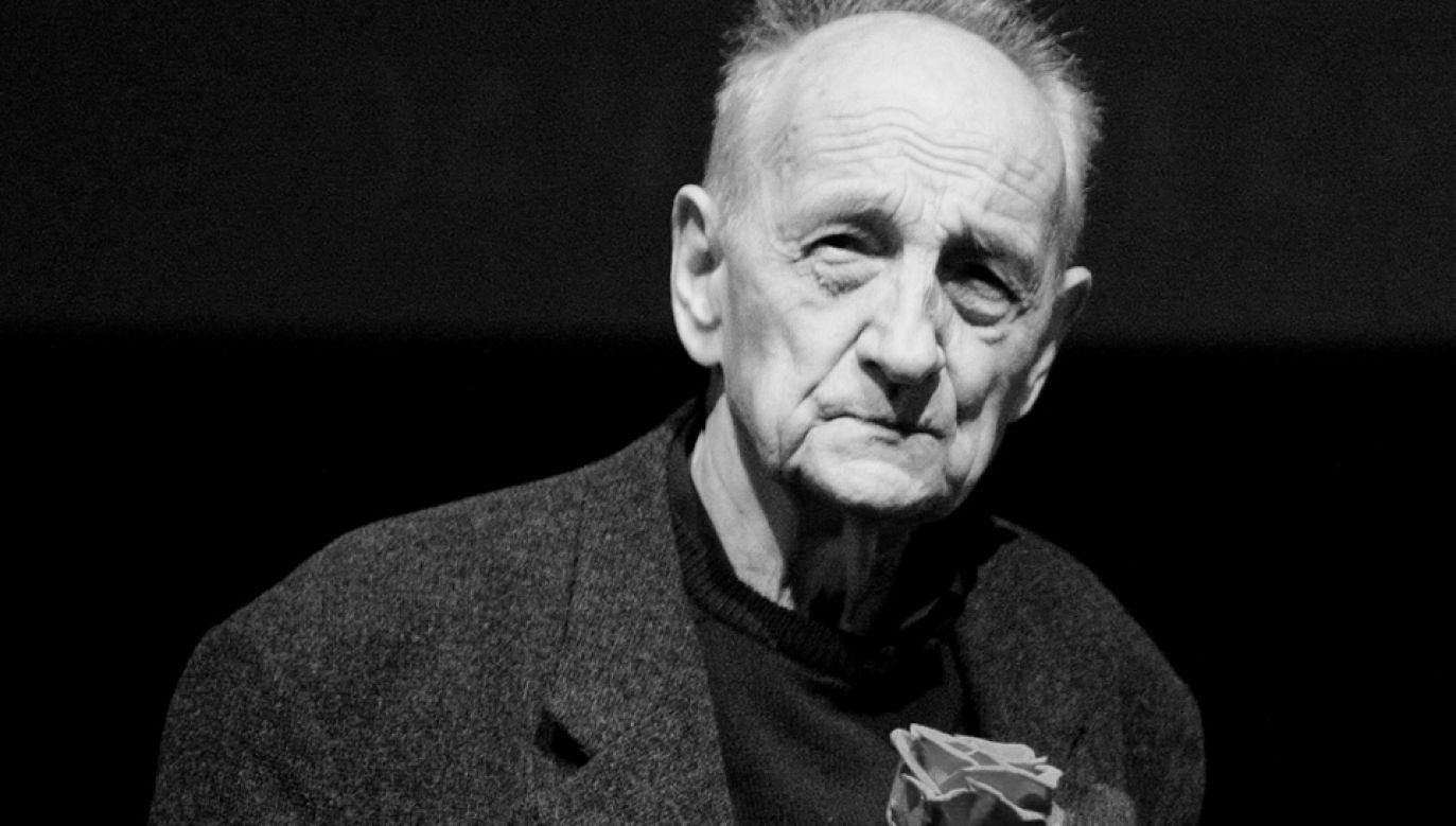 Kazimierz Karabasz (1930 - 2018) (fot. z 2008 r PAP/Grzegorz Michałowski)