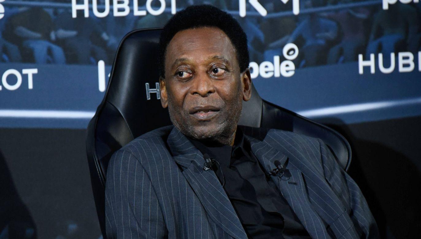 Pelé jest trzykrotnym mistrzem świata w piłce nożnej (fot. arch. PAP/Panoramic)
