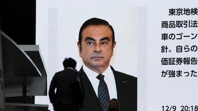 Były prezes Nissana Carlos Ghosn trafił do aresztu 19 listopada (fot. Tomohiro Ohsumi/Getty Images)