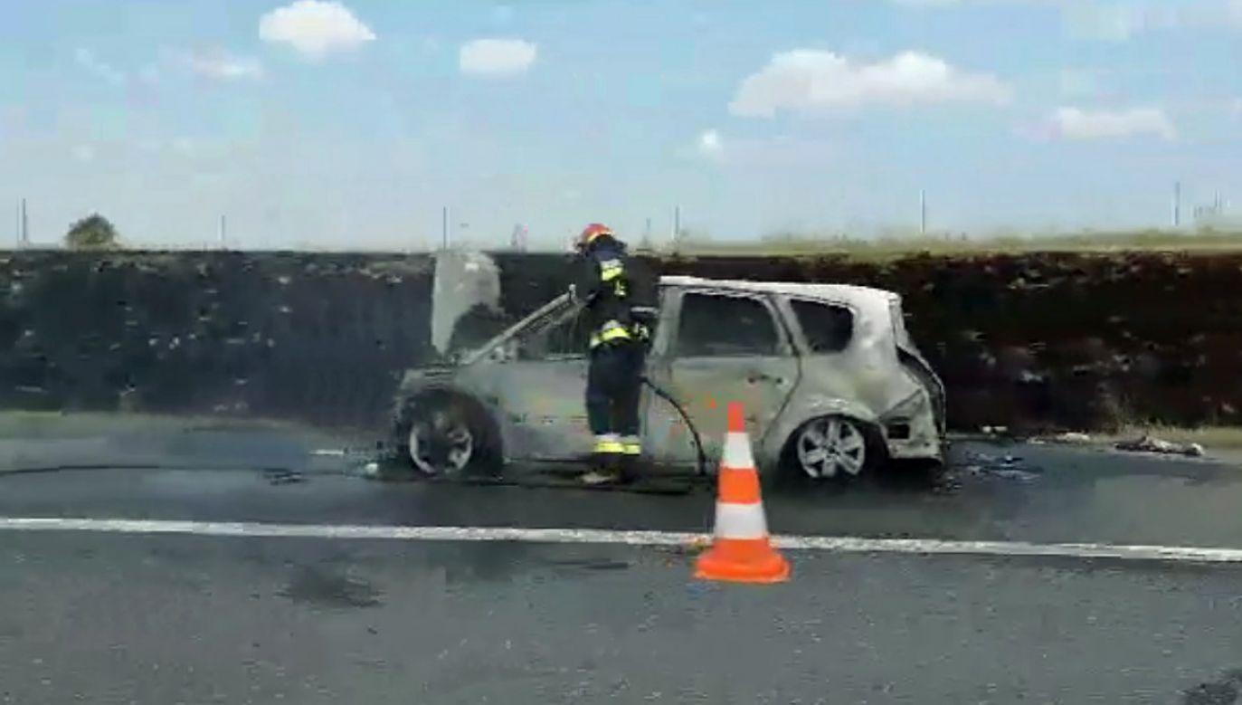 Do pożarów doszło samoistnie (fot. Twoje Info)