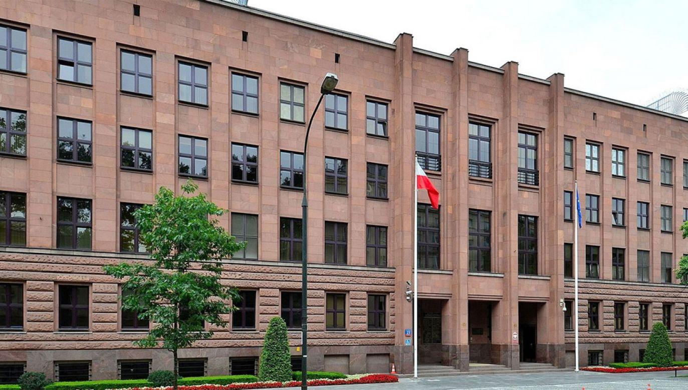 Obecnie siedziba MSZ mieści się w Alei Szucha (fot. Adrian Grycuk)
