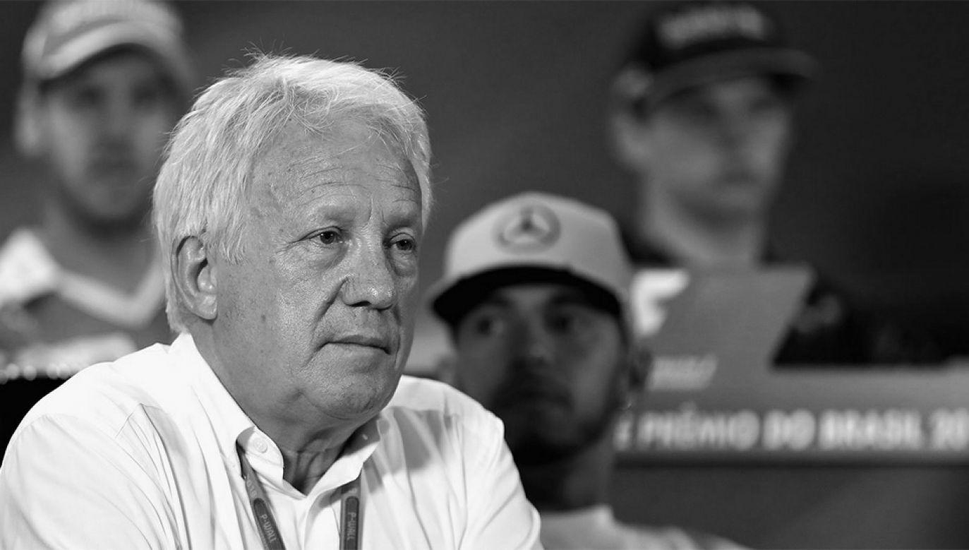Charlie Whiting ponad 20 lat był delegatem technicznym FIA w Formule 1 (fot. TT/Red Bull Racing)