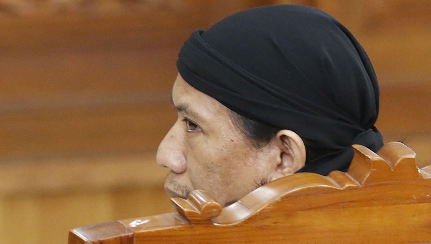 Aman Abdurrahman  (fot. PAP/EPA/BAGUS INDAHONO)