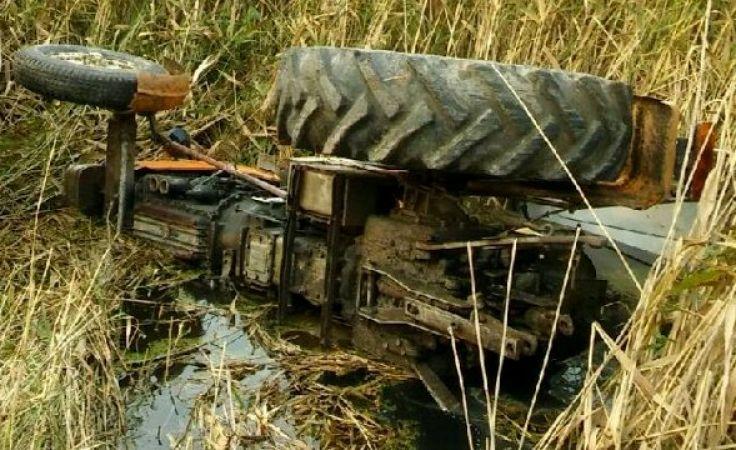 Do zdarzenia doszło w gminie Kalinowo (fot. KWP Olsztyn)