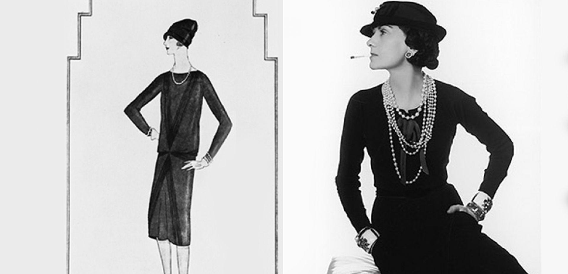 """e3dc9c6b8b Mała czarna"""" sukienka zaprojektowana przez Coco Chanel kończy 90 lat ..."""