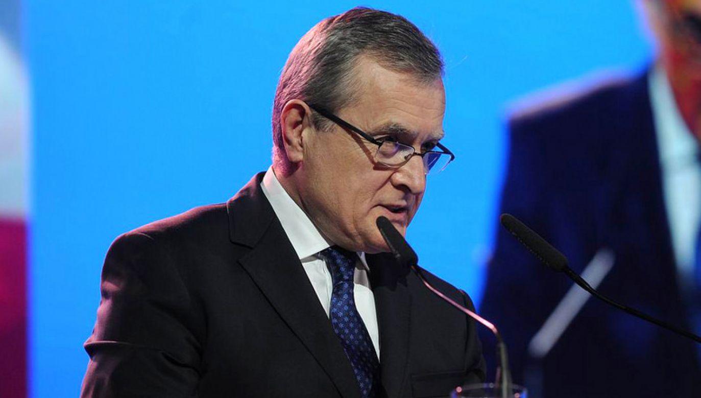 Wicepremier Gliński jest laureatem nagrody tygodnika – Człowiek Wolności – za rok 2018 (fot. flickr/com/PiS)