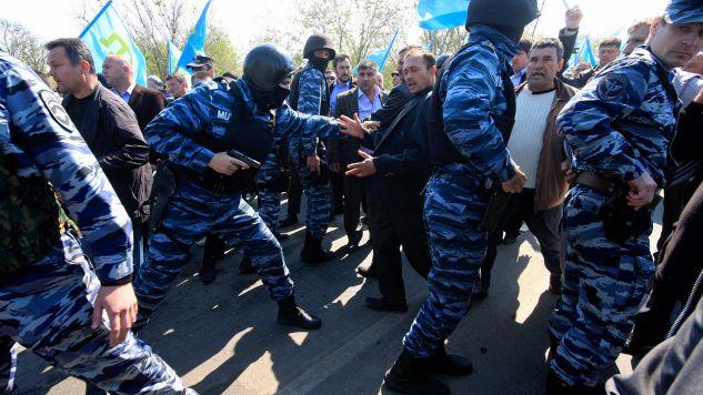 Władze zaanektowanego przez Rosję Krymu zatrzymały aktywistów ruchu narodowego (fot. REUTERS/Stringer)