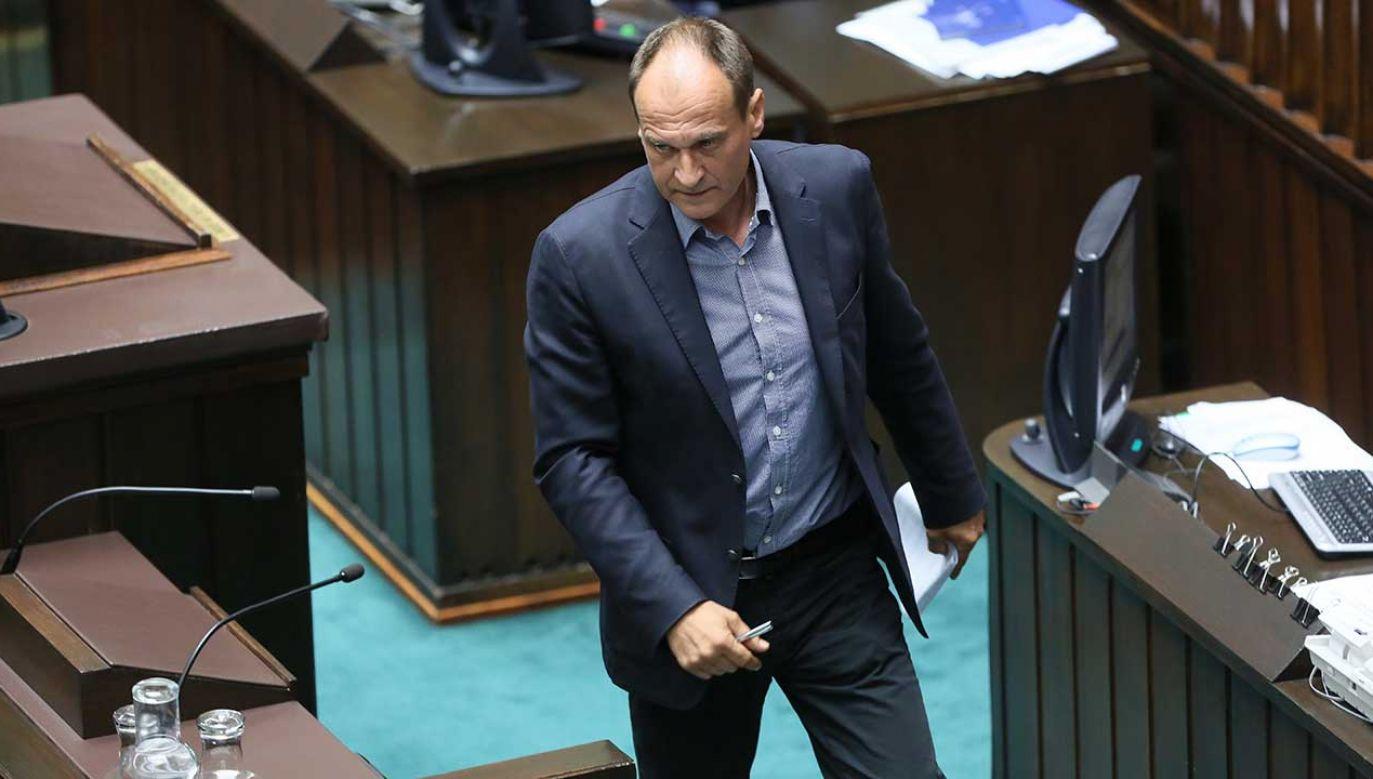 Lider Kukiz'15 podkreślił, że Unia Europejska jest w głębokim kryzysie (fot. arch. PAP/Leszek Szymański)