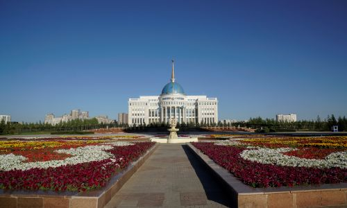 Akorda, oficjalna siedziba prezydenta Kazachstanu. Fot. REUTERS/Shamil Zhumatov