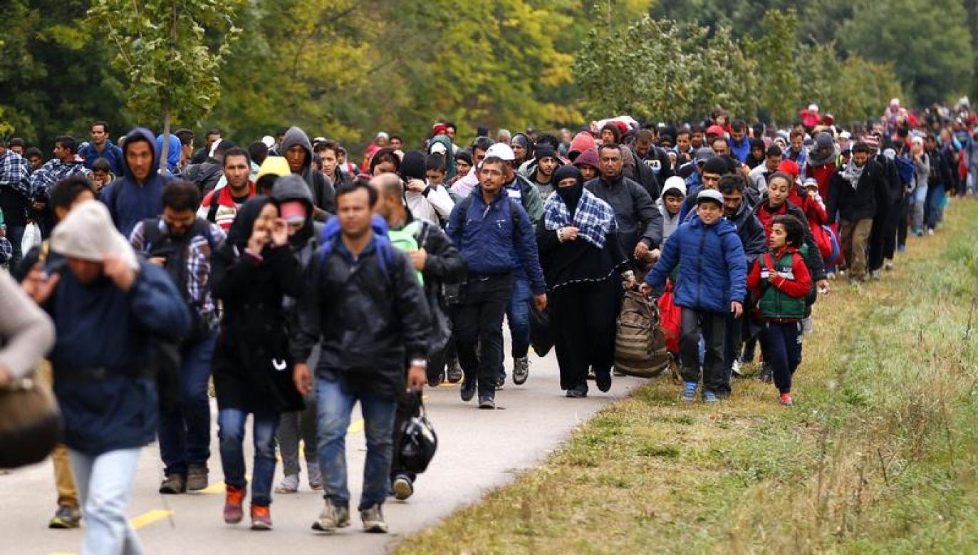 Zgodnie z węgierskimi przepisami osoby ubiegające się o azyl przebywają w strefach tranzytowych do czasu rozpatrzenia ich spraw (fot. REUTERS/Leonhard Foeger)