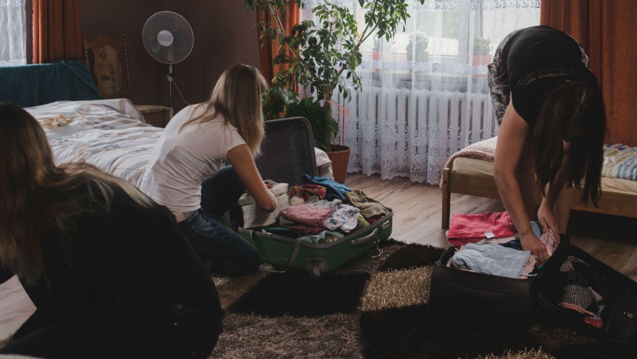 W domu Grzegorza nie było tak spokojnie (fot. TVP)