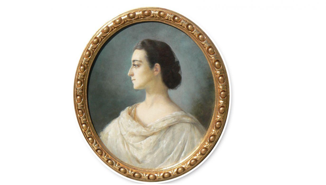 Portret Izabeli z Czartoryskich Działyńskiej pędzla Matyldy Meleniewskiej. Fot. Muzeum Narodowe w Poznaniu