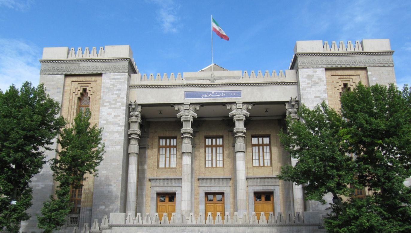 Ministerstwo Spraw Zagranicznych Iranu (fot. wikimedia commons/sipo)