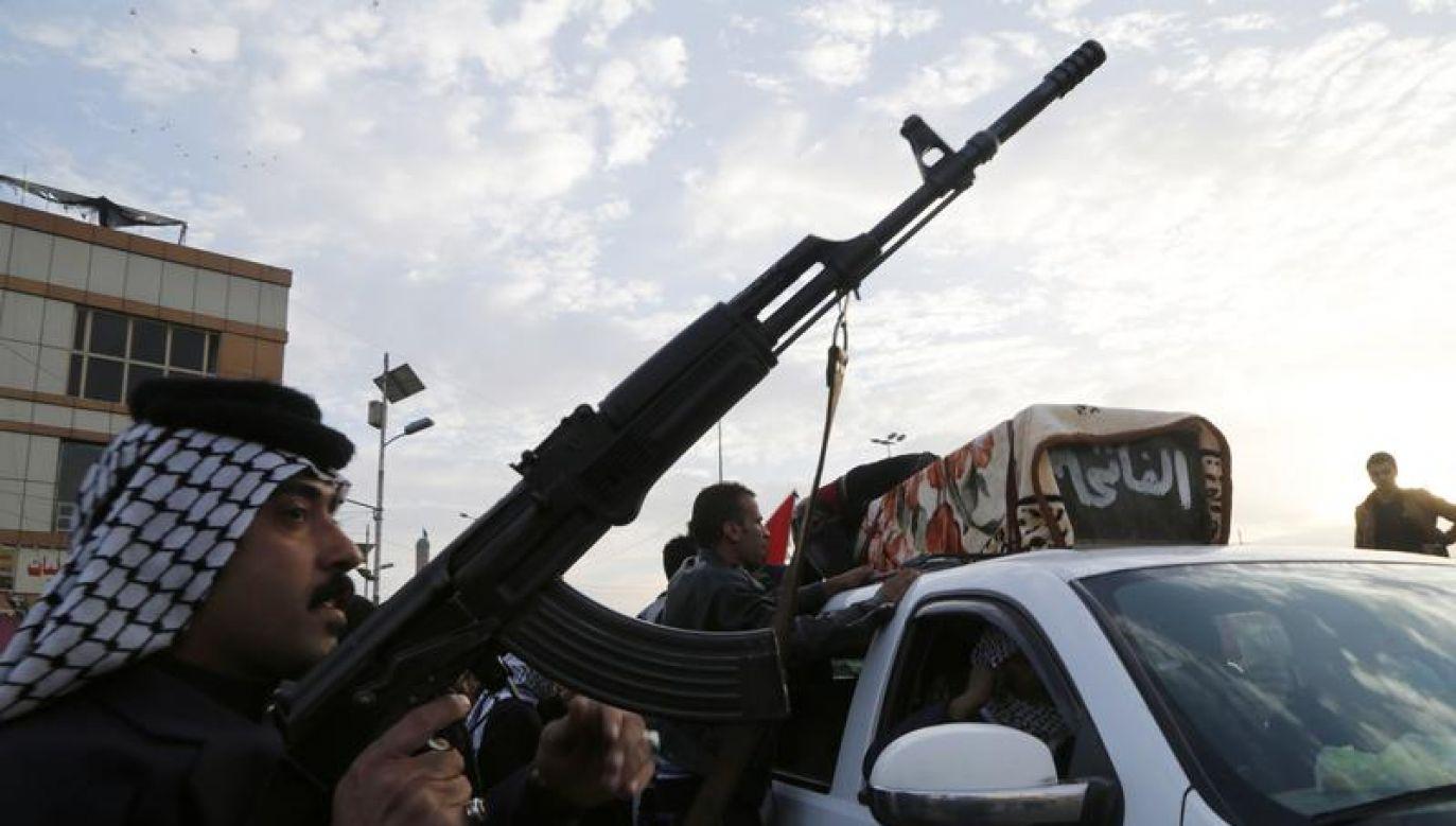 Siedmiu samobójców zginęło (fot. REUTERS/Wissm al-Okili)