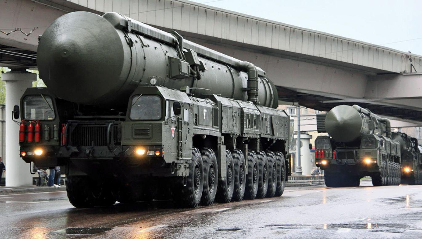 Swój arsenał nuklearny modernizuje m.in. Rosja (fot. Vitaly Kuzmin)