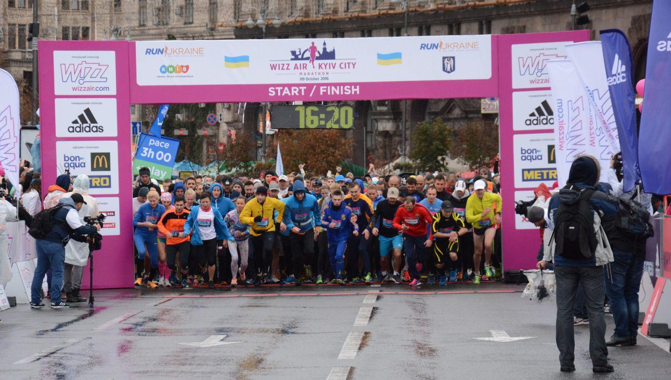 International Kiev Marathon in 2016. Photo: Hakan Caliskan/Anadolu Agency/Getty Image