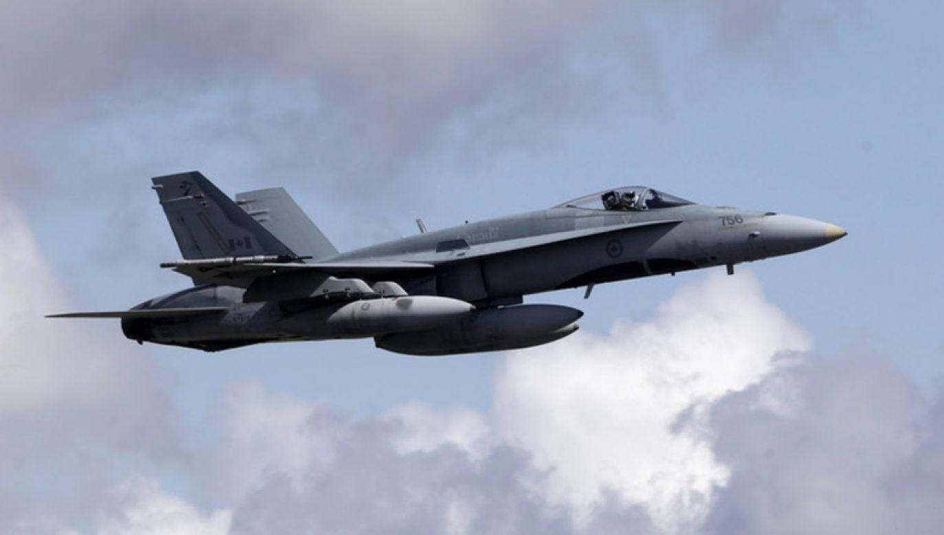 To pierwszym przypadek alarmowego poderwania samolotów kanadyjskich w ramach operacji Reassurance (fot. Ints Kalnins/Reuters)