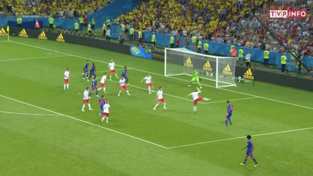 mecz Polski z Kolumbią