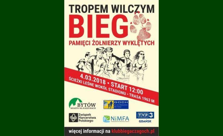 Bieg pamięci w Polsce Tropem Wilczym 2018