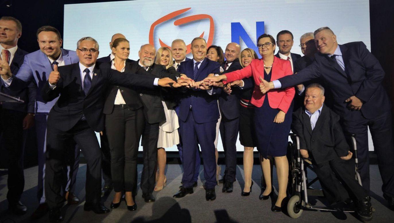 W regionalnej konwencji Koalicji Obywatelskiej wzięli udział m.in.: Grzegorz Schetyna, Katarzyna Lubnauer i Barbara Nowacka (fot. twitter/Platforma Obywatelska)