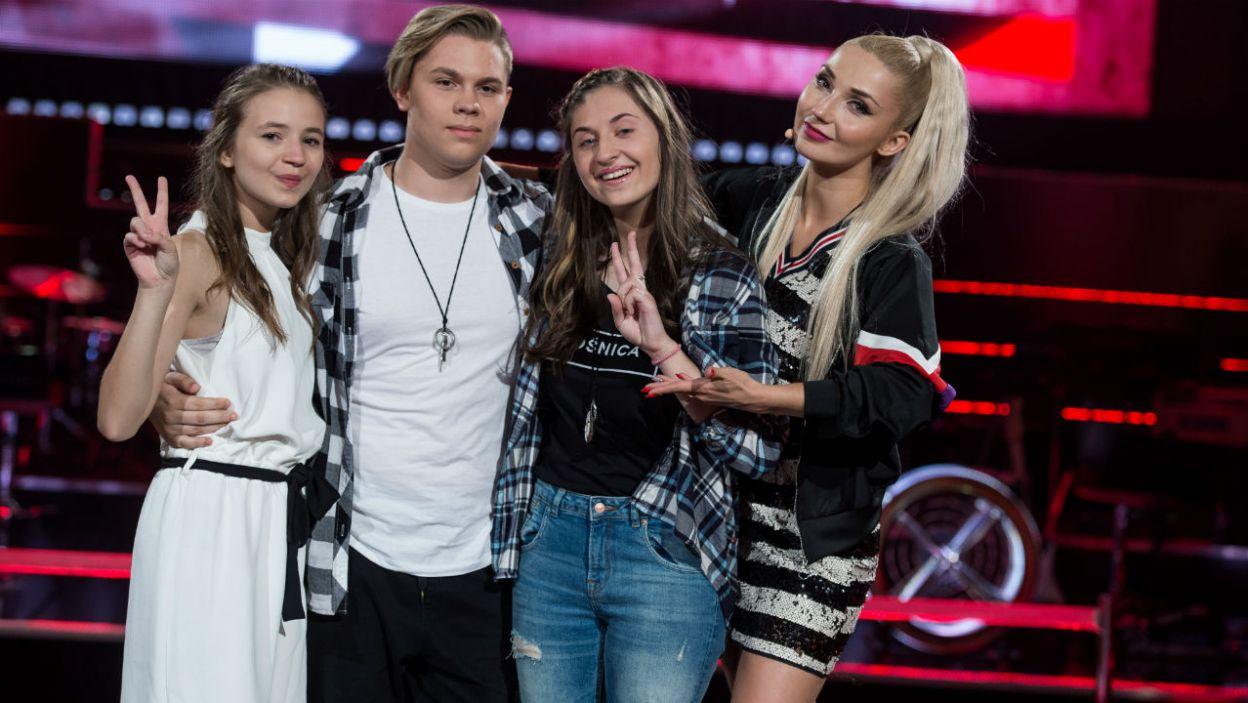 Ania, Adrian i Karolina – tak prezentuje się finałowa trójka Cleo! (fot. J. Bogacz/TVP)