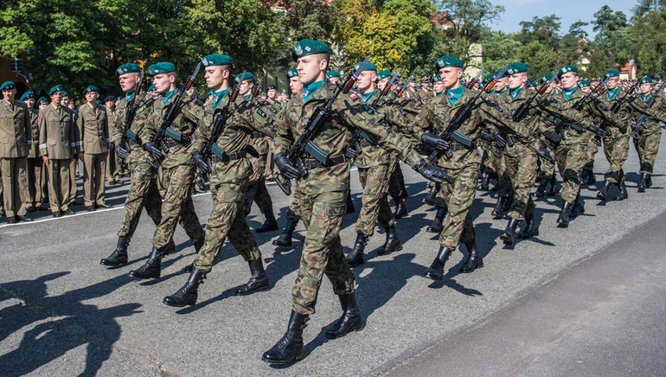 MON chce zainteresować służbą wojskową więcej osób, by zwiększyć liczebność Wojska Polskiego (fot. TT/Ministerstwo Obrony Narodowej)
