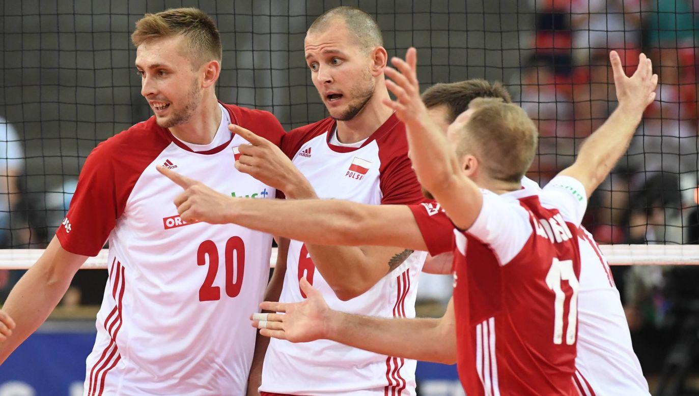 W kadrze na MŚ znalazło się pięciu zawodników, którzy pamiętają sukces sprzed czterech lat (fot. PAP/Grzegorz Michałowski)