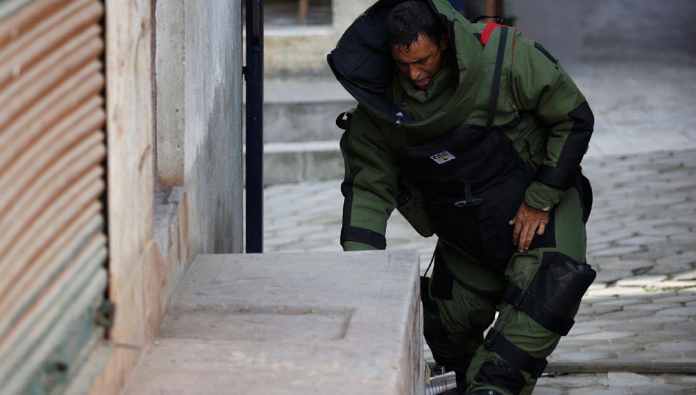Policja znalazła i rozbroiła część ładunków wybuchowych, które zostały podłożone w różnych częściach Katmandu (zdjęcie ilustracyjne) (fot. REUTERS/Navesh Chitrakar)