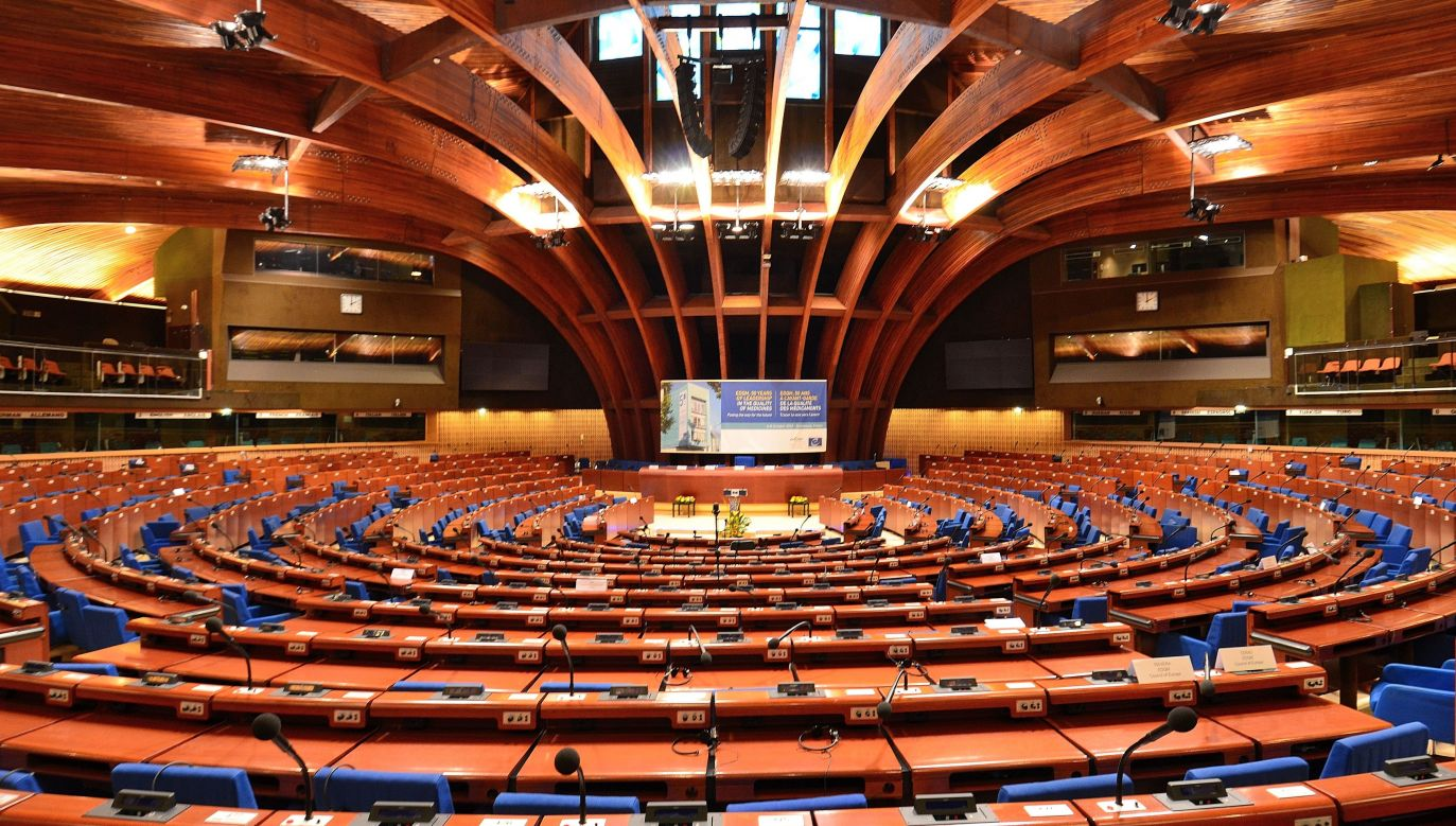 Plenary chamber of the Council of Europe's Parliamentary Assembly. Photo: Wikimedia Commons, Adrian Grycuk