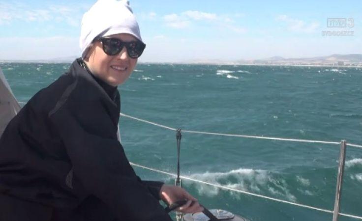 Bydgoszczanka płynie jachtem dookoła bieguna południowego, po rekord Guinessa