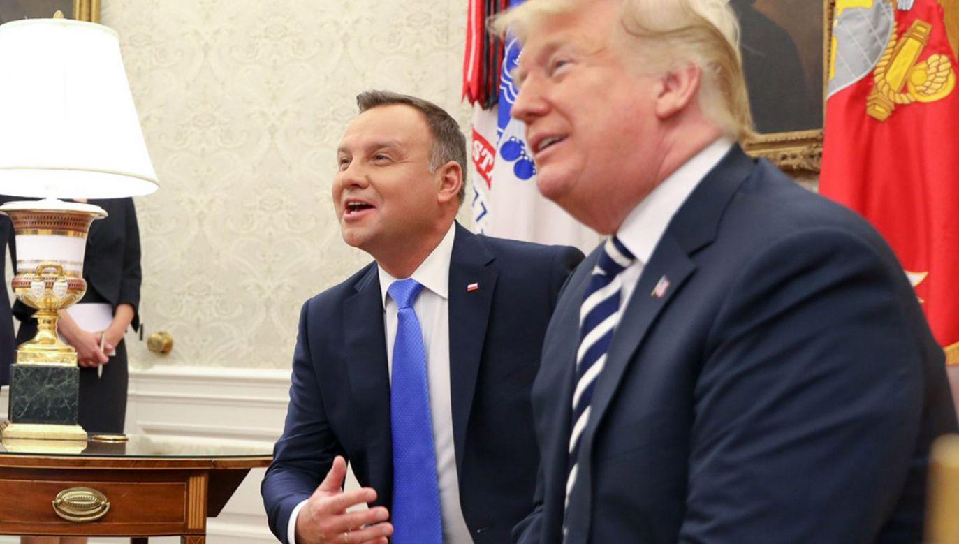 Pierwsza oficjalna wizyta prezydenta Andrzeja Dudy w stolicy USA (fot. Jakub Szymczuk/KPRP)