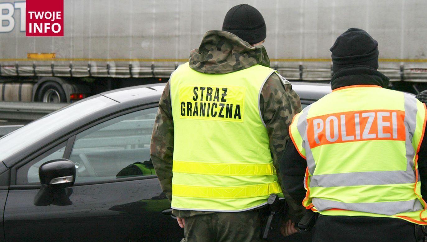 Zatrzymano także kierowcę, 40-letniego obywatela Litwy (fot. Straż Graniczna)