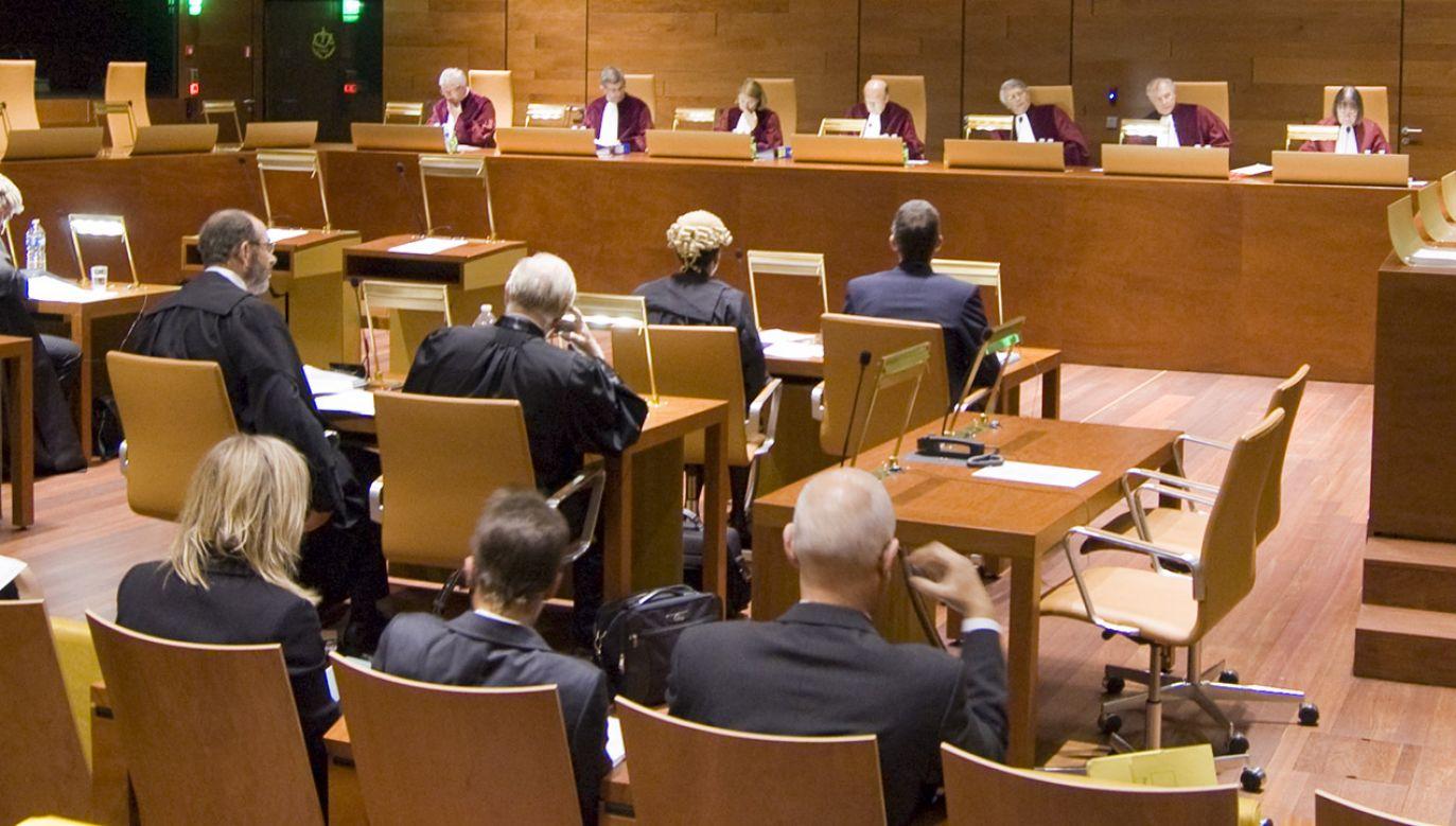 Rozprawa przed Trybunałem Sprawiedliwości (fot. Materiały prasowe)